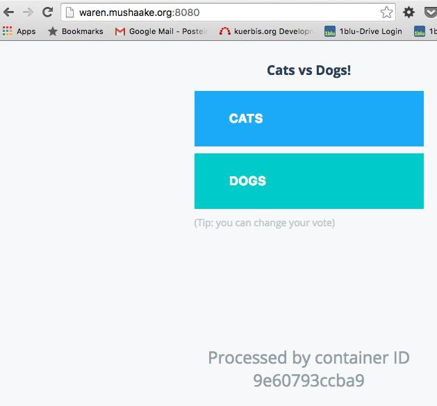 Docker 1.12 Swarm mode mit PHP und Nginx in der Praxis